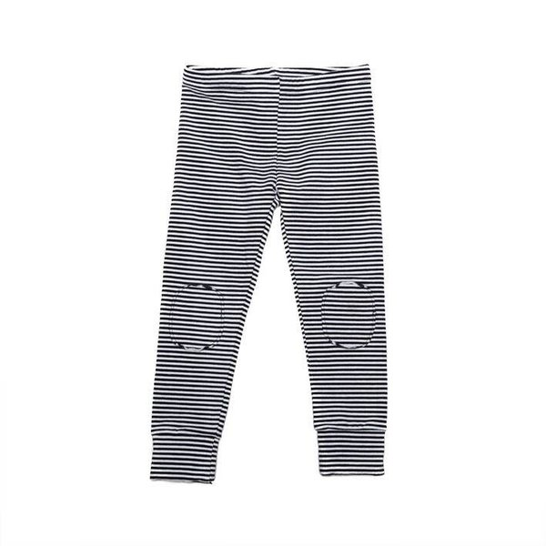 Winter Legging B/W Stripes