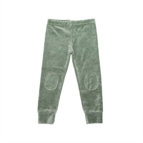 MINGO Velvet Legging Duck Green