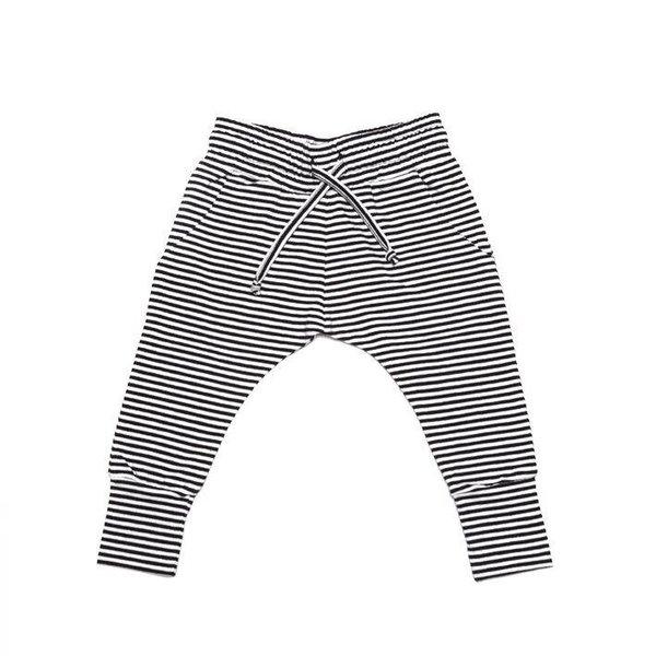 Slimfit Jogger B/W Stripes Winter