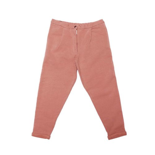 MINGO Cropped Chino Raspberry