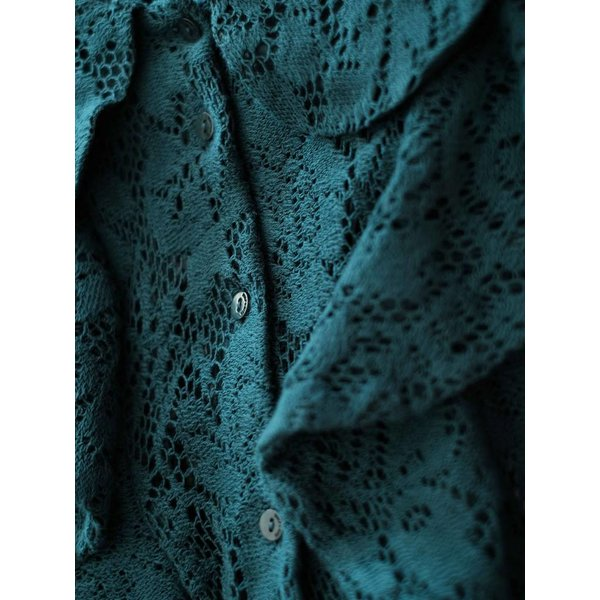 Rebeca Lace Green Blouse
