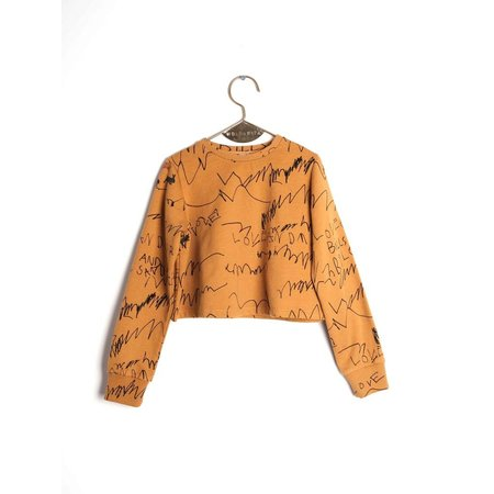 Wolf & Rita Lili Mustard Love and Love Jumper