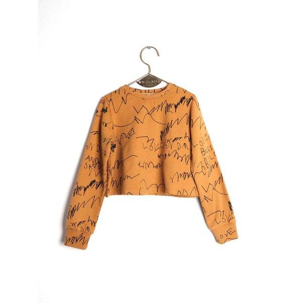 Lili Mustard Love and Love Jumper shirt
