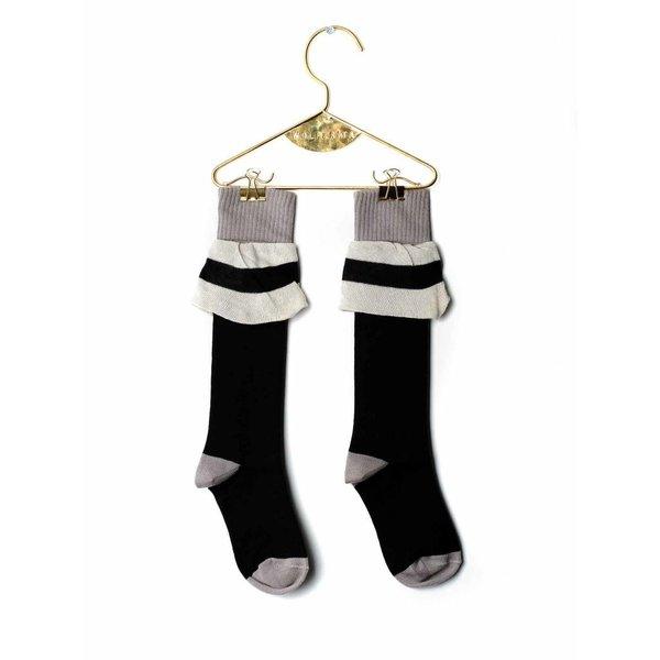 Socks Frill Black
