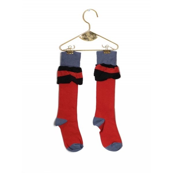 Socks Frill Brick