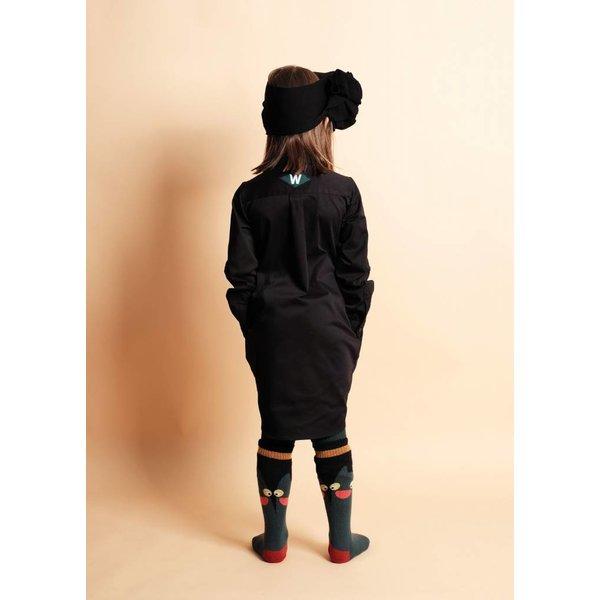 Roberta Dress Black jurk