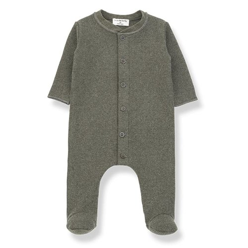 1+ in the Family Marcello Jumpsuit Khaki