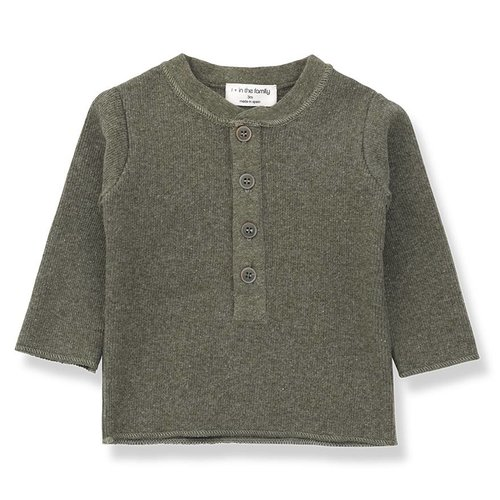 1+ in the Family Matt t-shirt Khaki