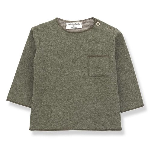 1+ in the Family Oriol T-shirt Khaki