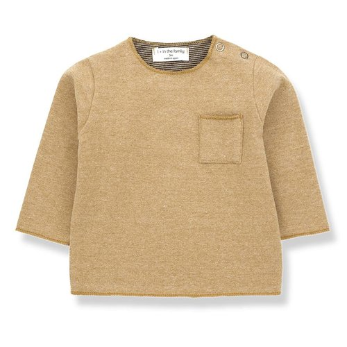 1+ in the Family Oriol T-shirt Ochre