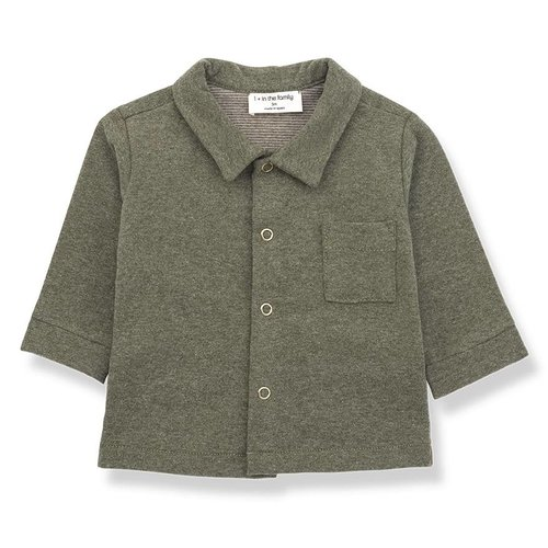 1+ in the Family Cedric Shirt Khaki