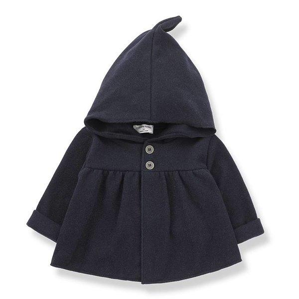 Iratxe Hood Jacket Blue