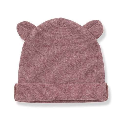 1+ in the Family Abel Bonnet Ears Pruna beanie