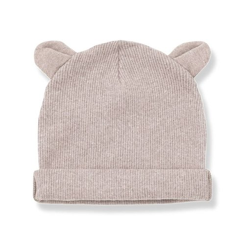 1+ in the Family Abel Bonnet Ears Rose beanie
