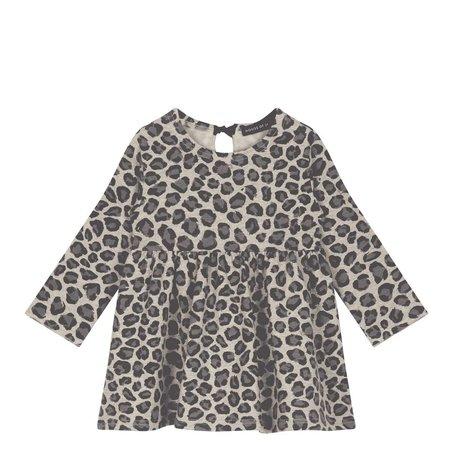 House of Jamie Oversized Dress Rock Leopard