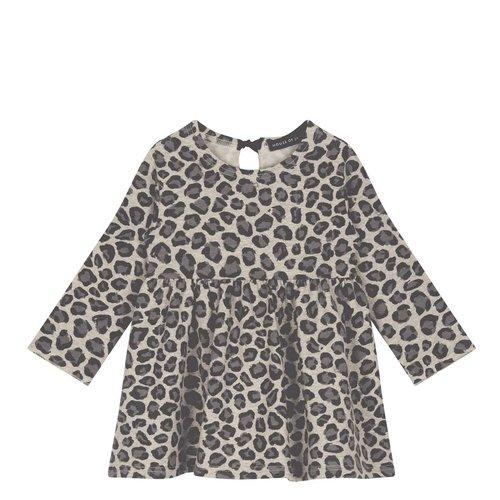 House of Jamie Oversized Dress Rock Leopard jurk
