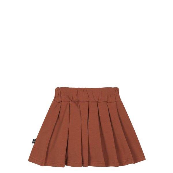Pleated Skirt Rust