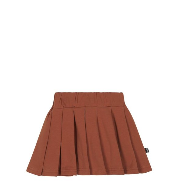 Pleated Skirt Rust rok
