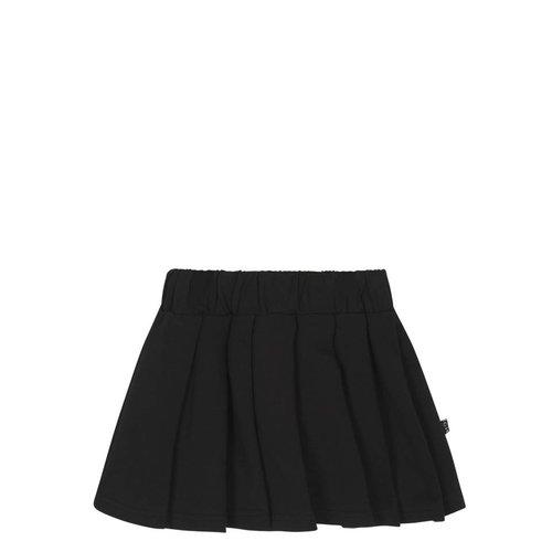 House of Jamie Pleated Skirt Black rok