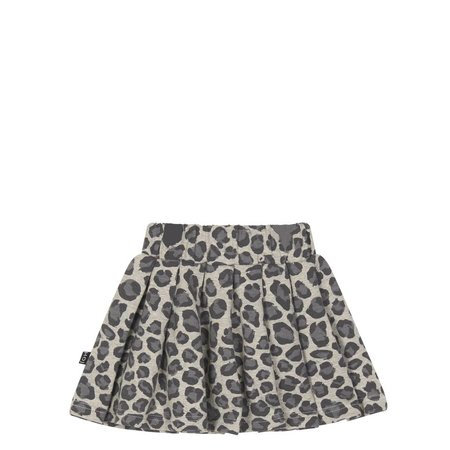 House of Jamie Pleated Skirt Rocky Leopard