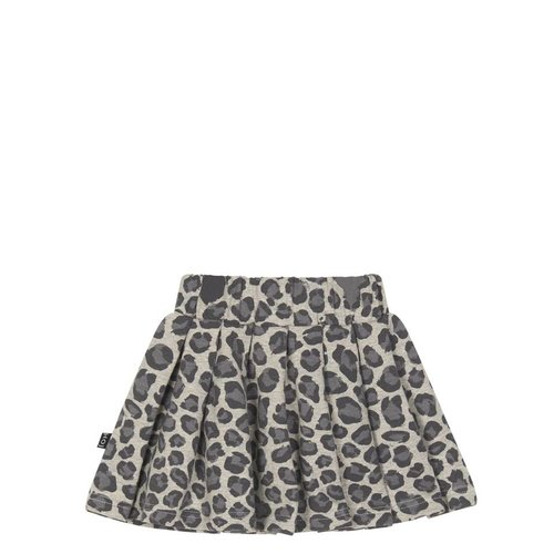 House of Jamie Pleated Skirt Rocky Leopard