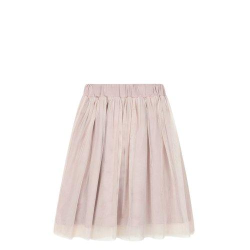 House of Jamie Long Tulle Skirt Powder Pink rok
