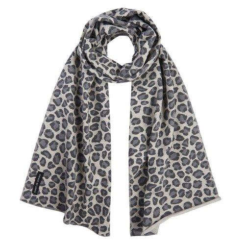 House of Jamie Long Scarf Rocky Leopard Sjaal