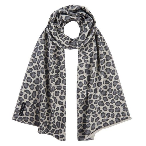House of Jamie Long Scarf Rocky Leopard