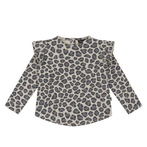 House of Jamie Girl Sweater Rocky Leopard trui