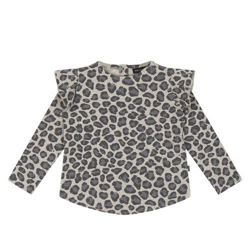 House of Jamie Girl Sweater Rocky Leopard