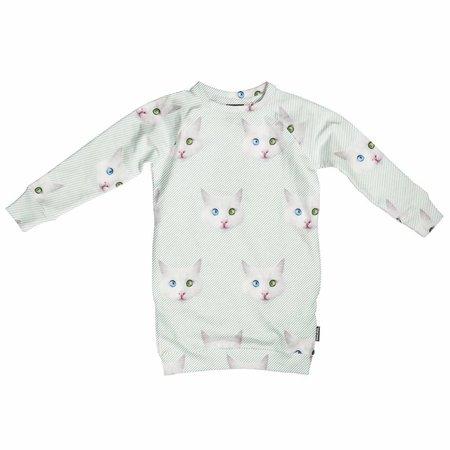 SNURK Crazy Cat Eyes Sweater Dress