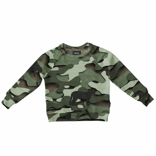 SNURK Paper Jungle Sweater trui