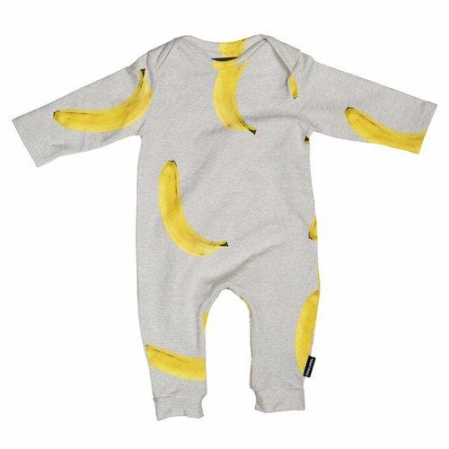 SNURK Banana Grey Playsuit
