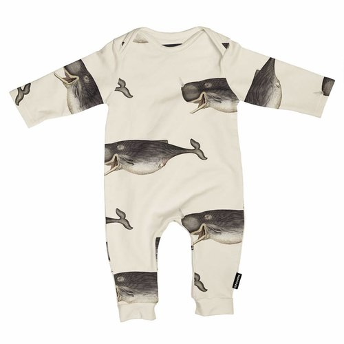 SNURK Whale by The DybDahl Playsuit
