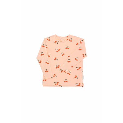 Tinycottons Cherries LS Relaxed Tee
