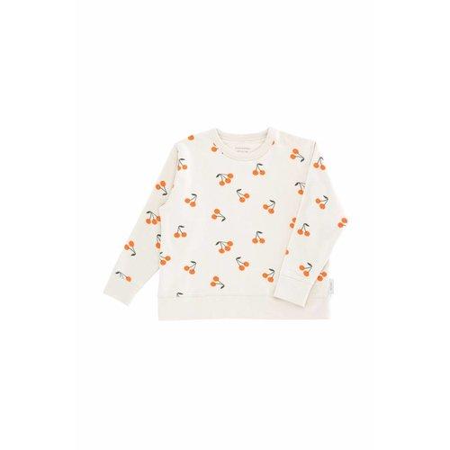 Tinycottons Cherries Fleece Sweatshirt trui