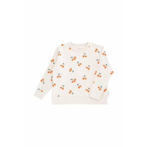 Tinycottons Cherries Fleece Sweatshirt