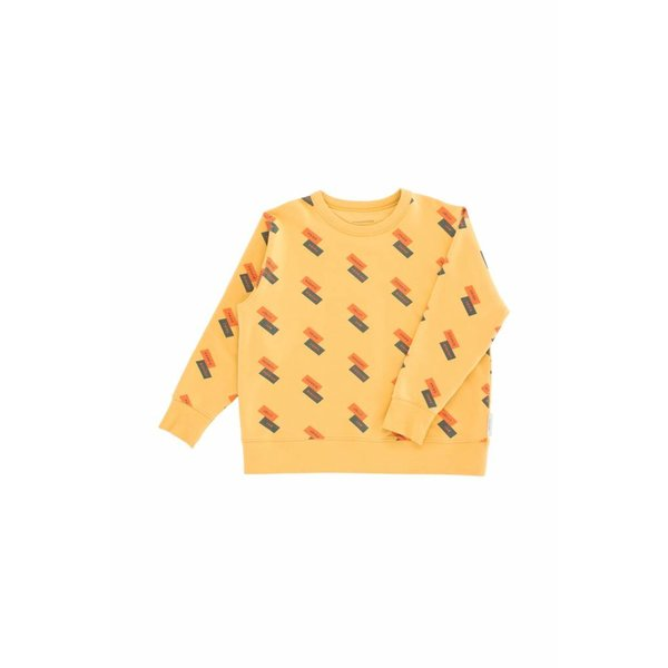 English Domino Fleece Sweatshirt trui
