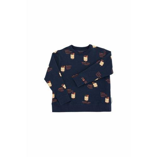 Tinycottons Friendly Bags Fleece Sweatshirt trui