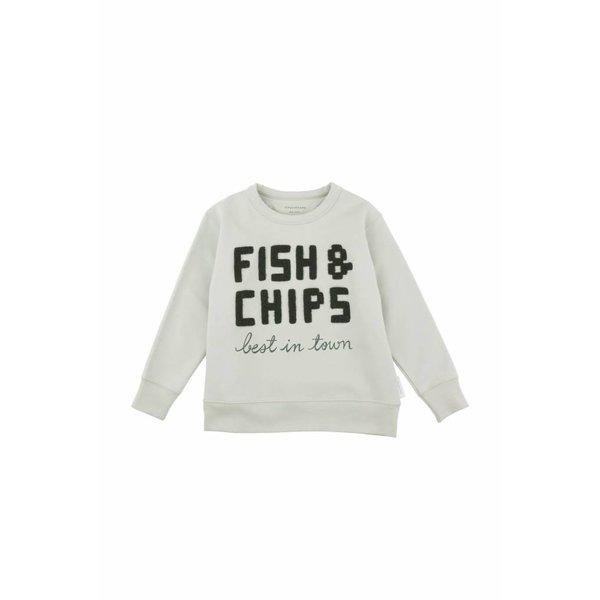 Fish & Chips Graphic Sweatshirt