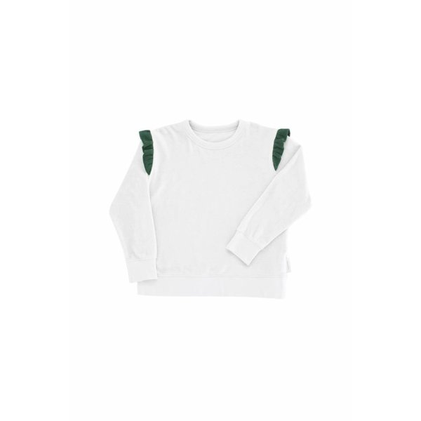 Frills Towel Sweatshirt trui