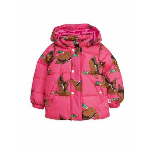 Mini Rodini Ducks Puffer Jacket Cherise