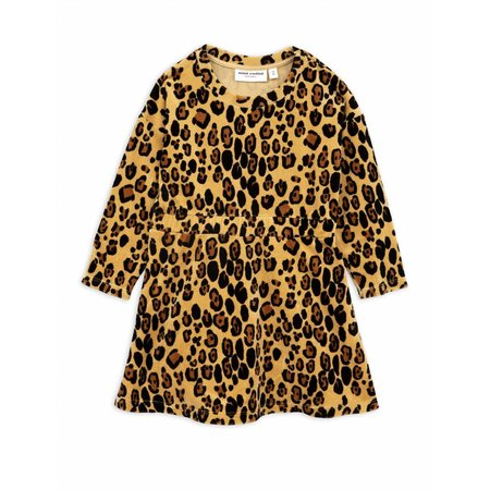 Mini Rodini Leopard Velours Dress