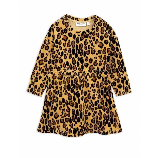 Leopard Velours Dress