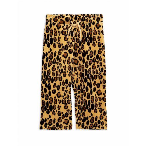 Mini Rodini Leopard Velours Sweatpants
