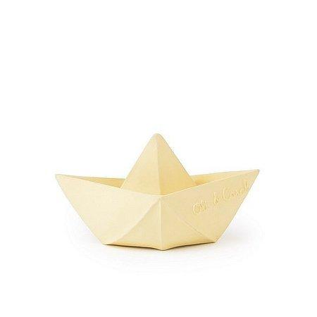 Oli and Carol Bad en Bijtspeeltje Origami Boat Vanilla