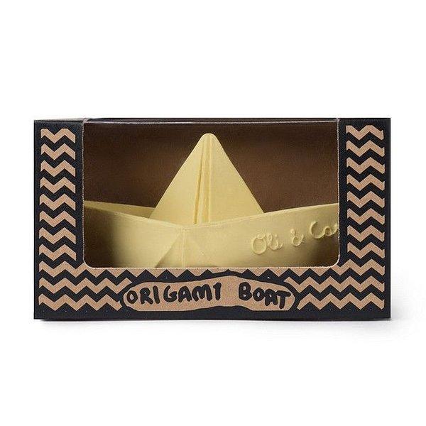 Bad en Bijtspeeltje Origami Boat Vanilla