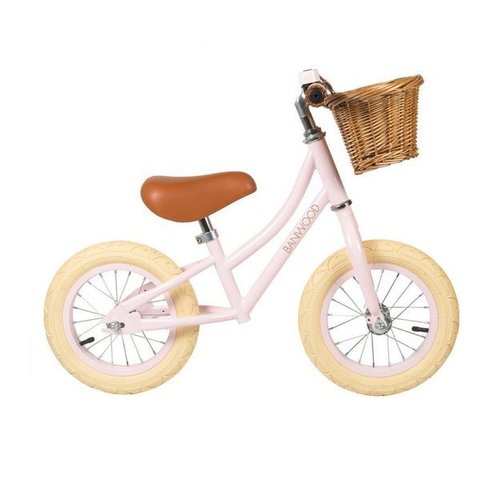 Banwood FIRST GO Pink Balance Bike