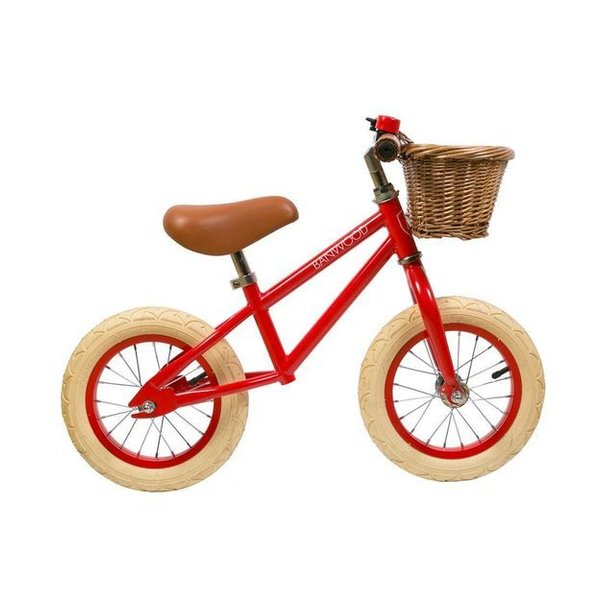 FIRST GO Red Balance Bike