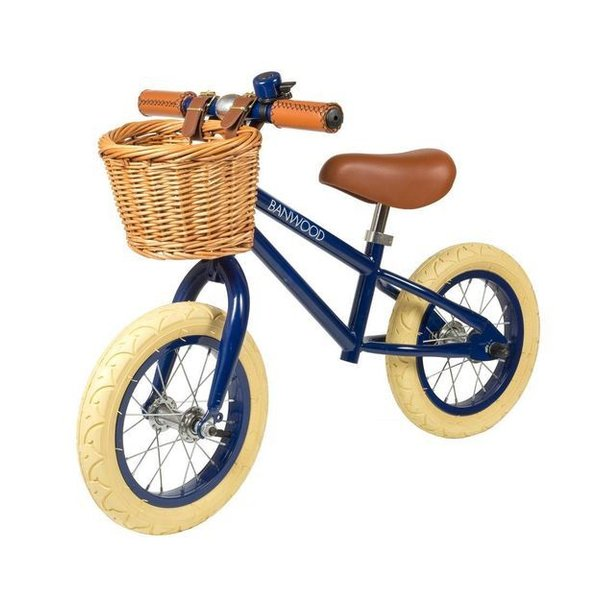 FIRST GO Navy Loopfiets